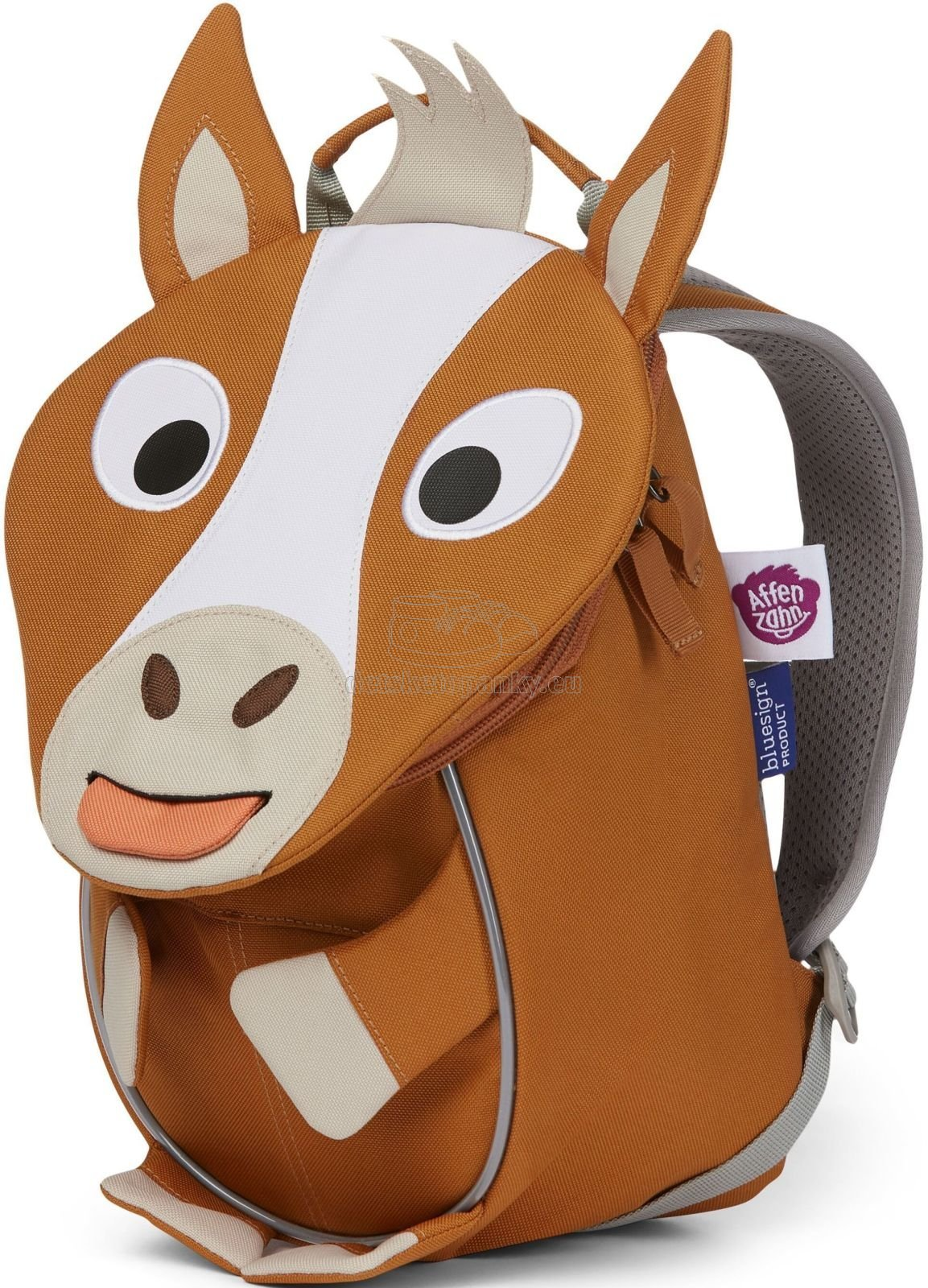 Batôžtek pre najmenších Affenzahn Small Friend Horse - brown