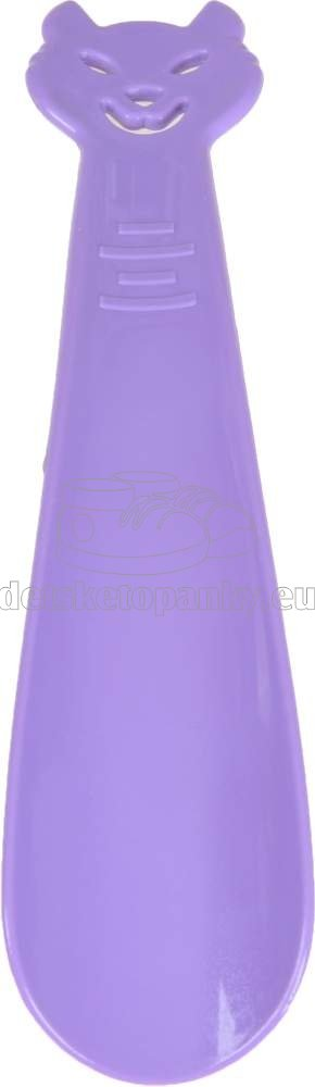 VTR obuvák 18 cm mačka fialová