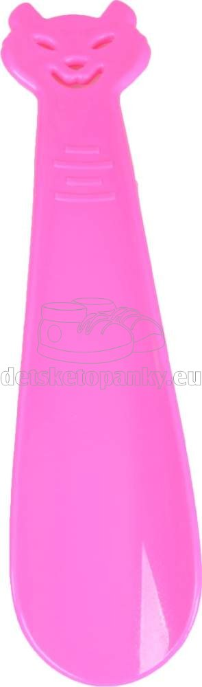 VTR obuvák 18 cm mačka ružová