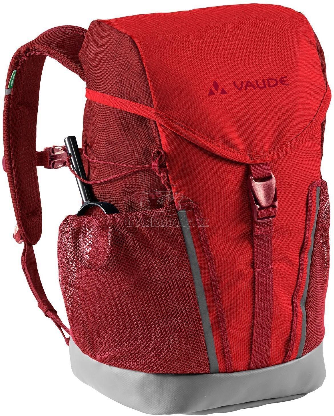Dětský batoh Vaude Puck 10 - mars red