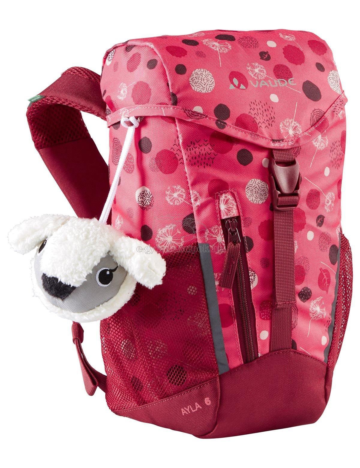 Gyerek hátizsák Vaude Ayla 6 - bright pink/cranberry