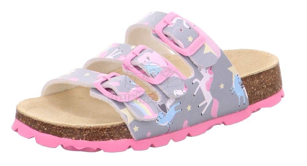 Domáca obuv Superfit 1-800113-2020