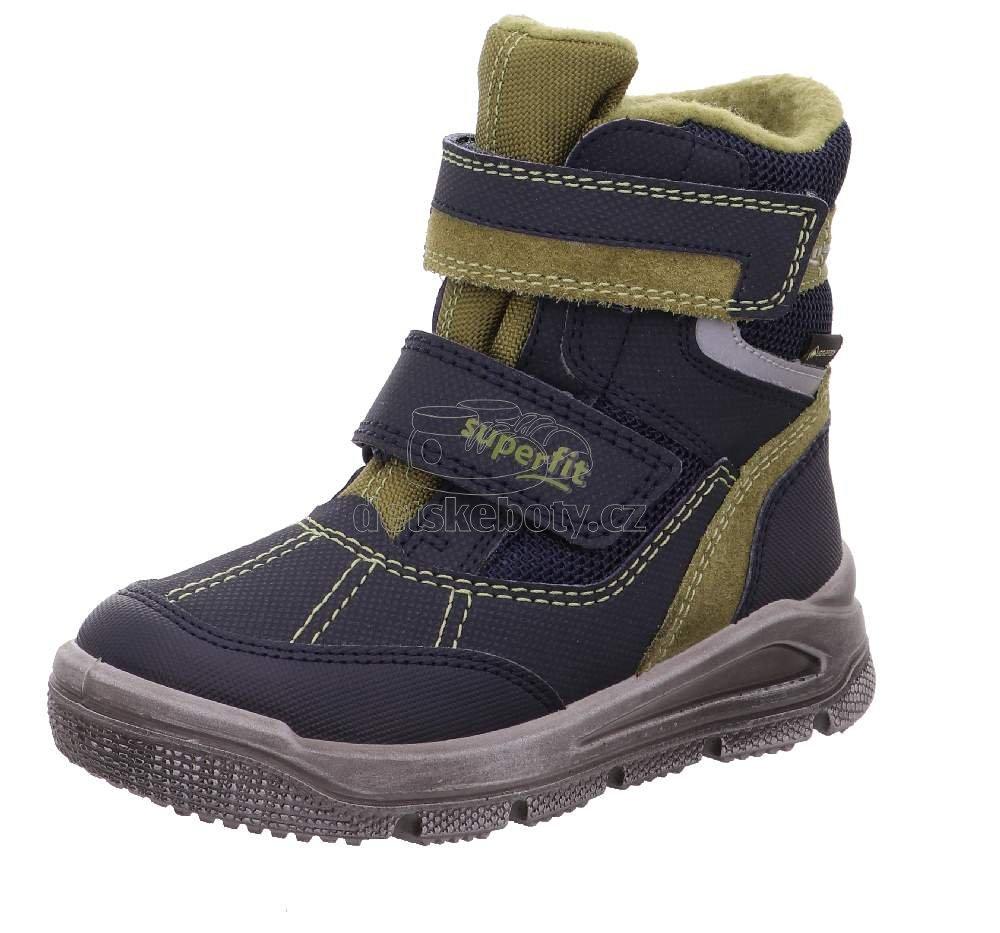Detské zimné topánky Superfit 1-009077-8000