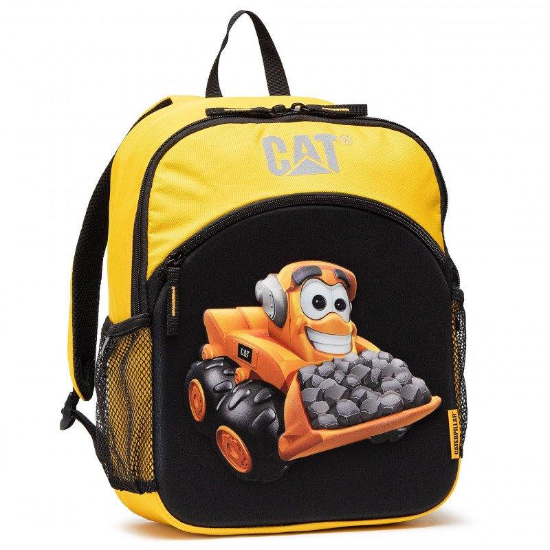 CAT  gyerek hátizsák, szín fekete/sárga