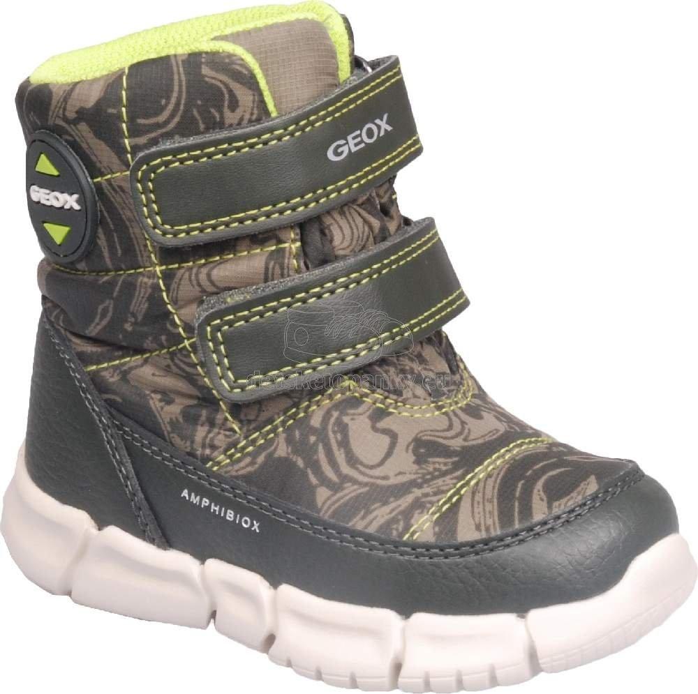 Detské zimné topánky Geox B043PC 0MNBU C3Y7N