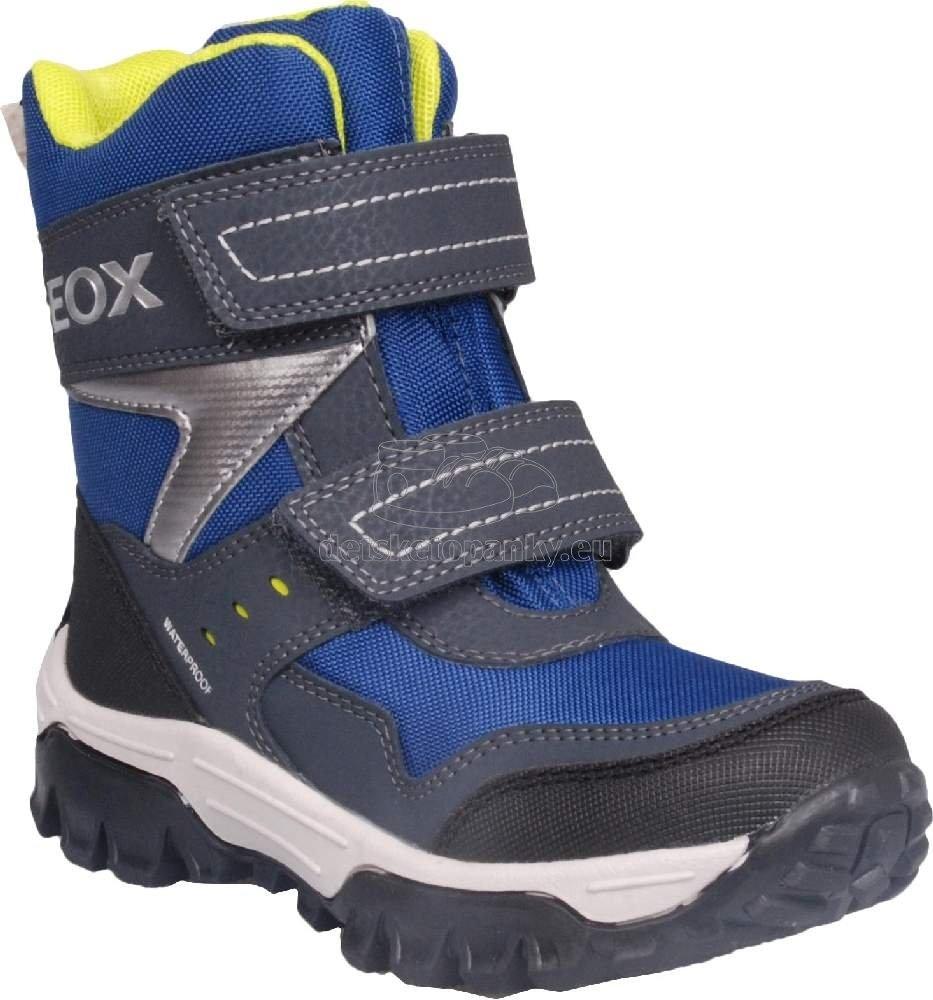 Detské zimné topánky Geox J163AB 0FUCE C0749