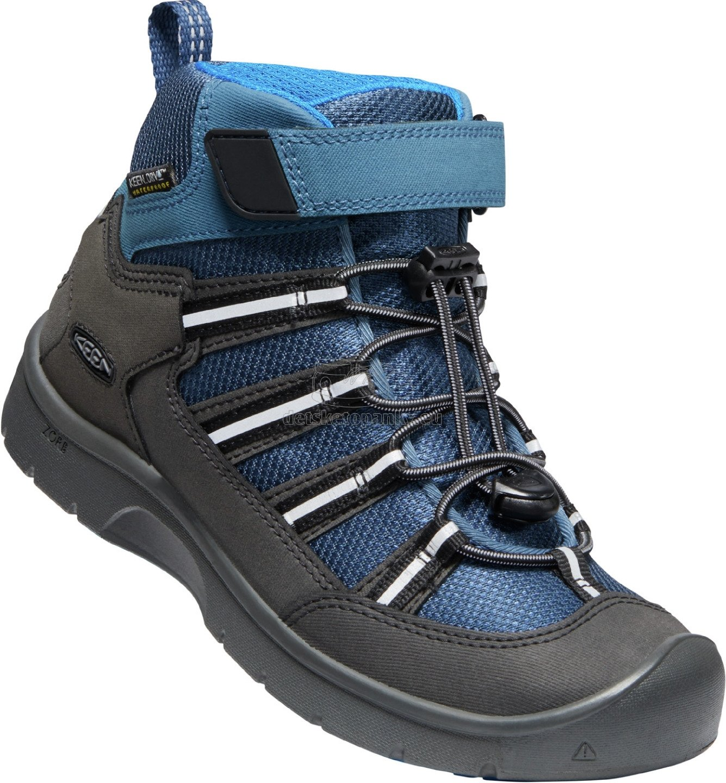 Detské celoročné topánky Keen HIKEPORT 2 SPORT MID WP YOUTH majolica/sky diver