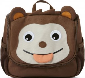 Gyerek kozmetikai táska  Affenzahn Kids Toiletry Bag Monkey - brown