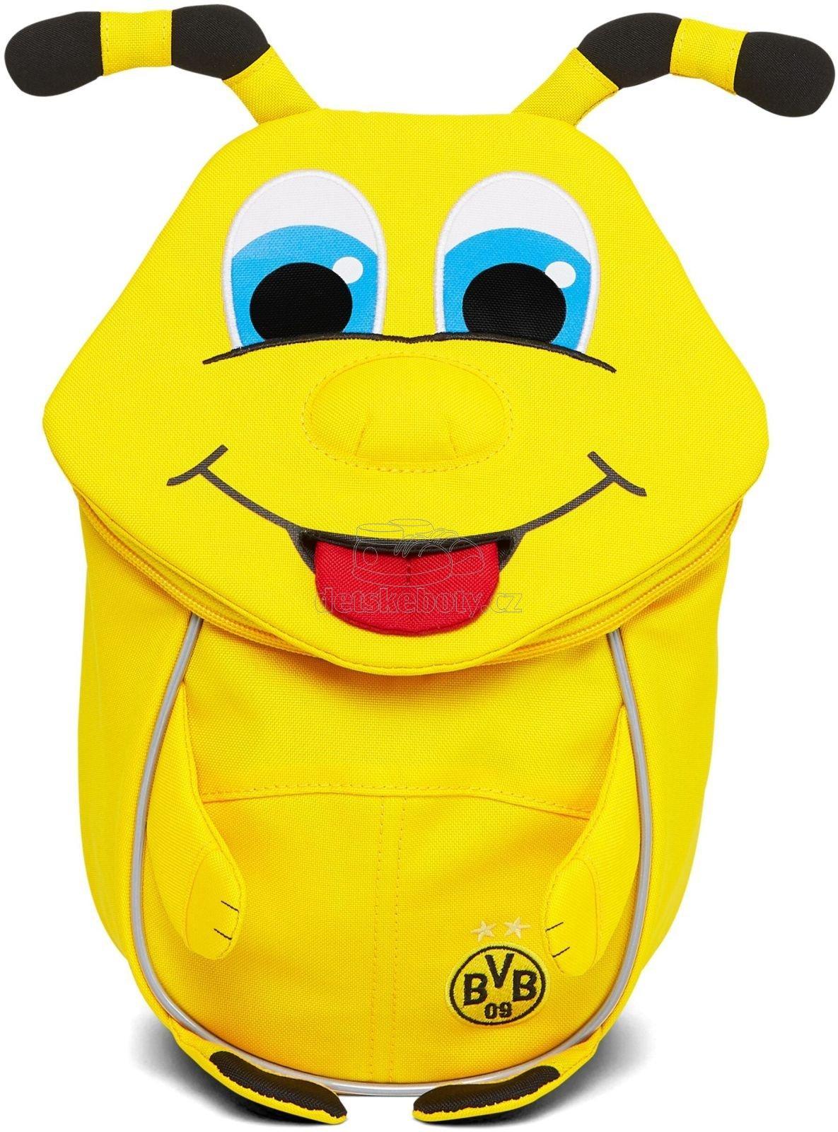 Batůžek pro nejmenší Affenzahn BVB Emma-yellow