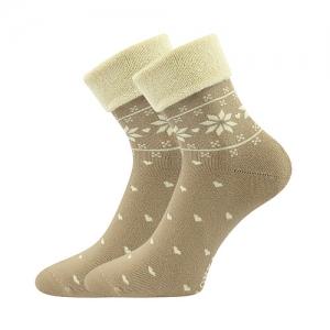 Gyerek zoknik LONKA Frotana angora bésszínű