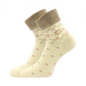 Gyerek zoknik LONKA Frotana angora  természetes