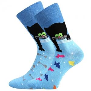 Gyerek zoknik LONKA Doble  Cica minta 12