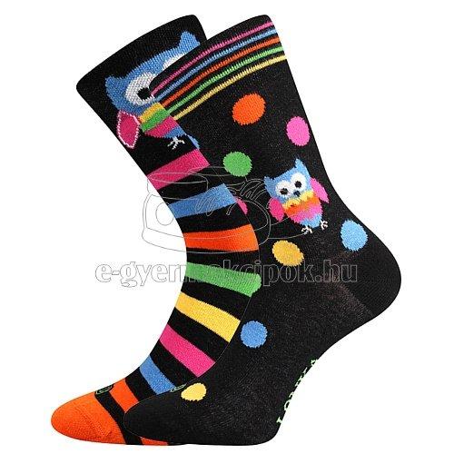 Gyerek zoknik LONKA Doble Bagoly minta 11