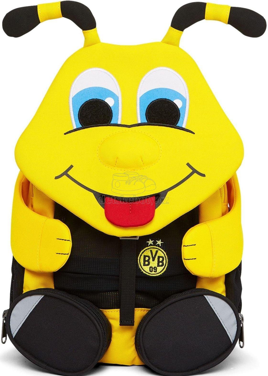 Dětský batoh do školy Affenzahn BVB Emma-yellow