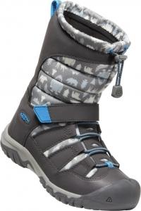 Detské zimné topánky Keen WINTERPORT NEO DT WP YOUTH steel grey/brilliant blue