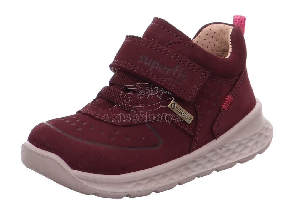Egész évben hordható gyerekcipők Superfit 1-000364-5010