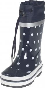 Gyerek gumicsizma  Playshoes 181767 dots kék