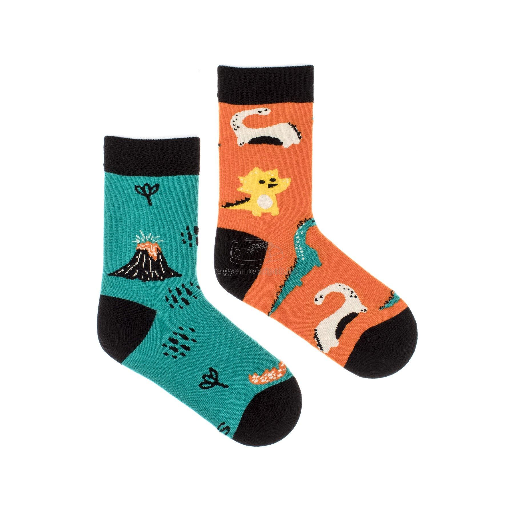 Gyerek zokni  Feetee Dinosaurus