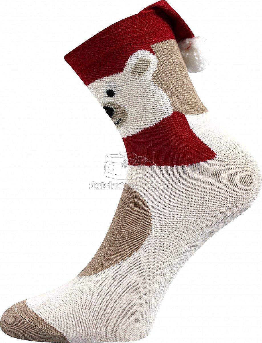 Detské ponožky BOMA Kulda Medveď