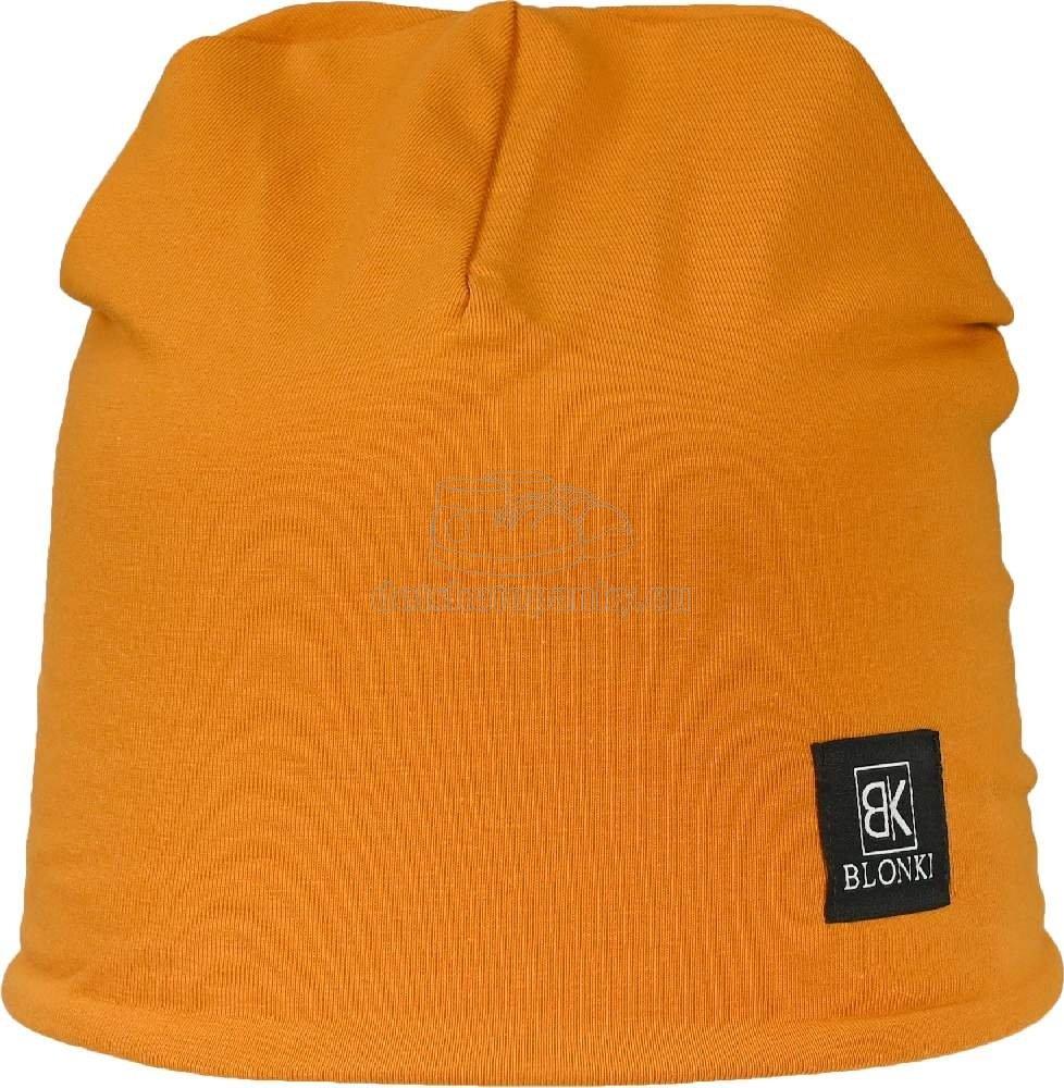 Detská zimná čiapka Blonki horčicová