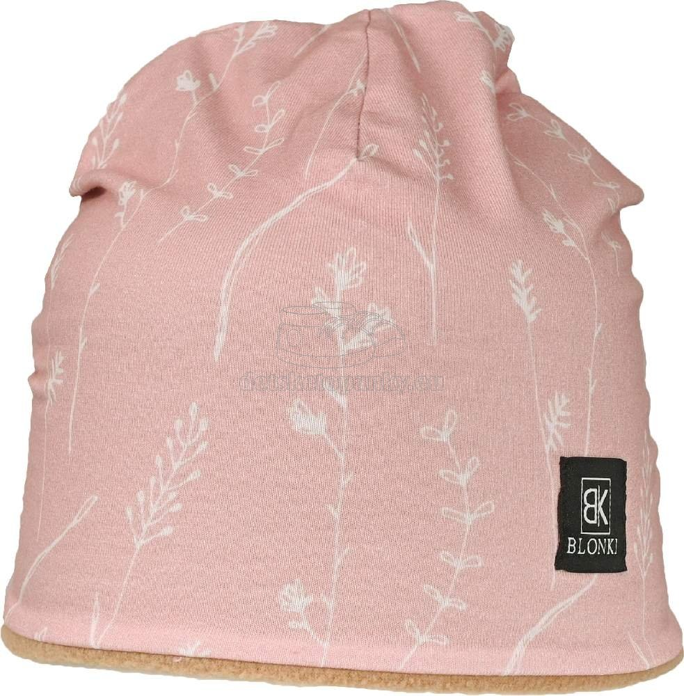 Detská zimná čiapka Blonki staroružová