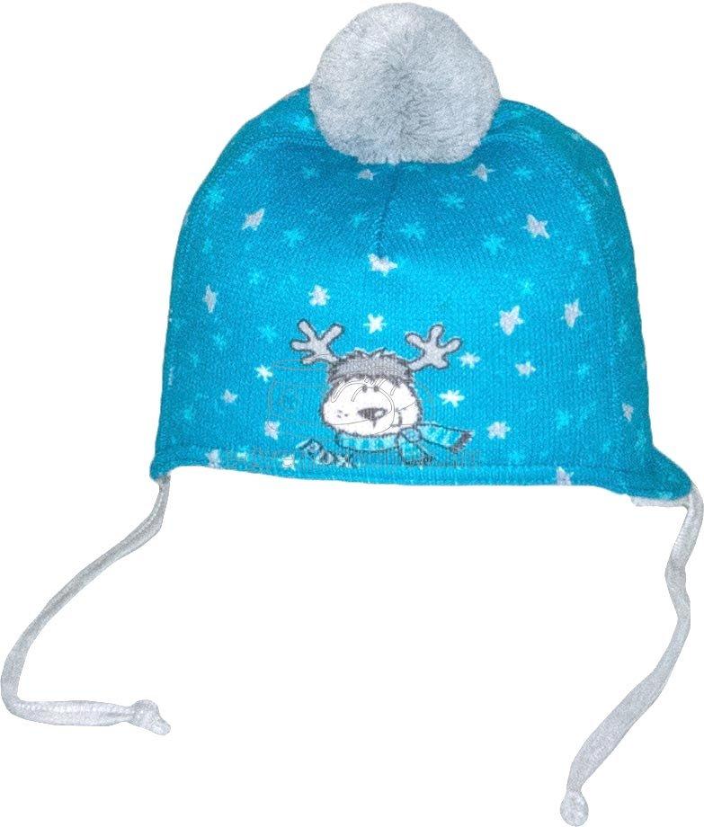 Téli gyerek sapka  Radetex 3831 kék