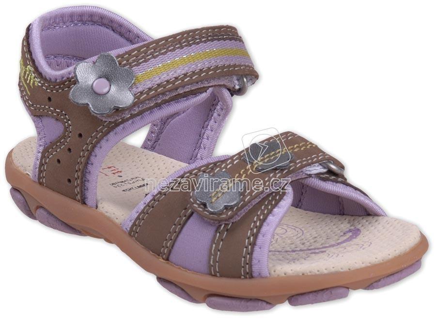 Detské celoročné topánky PEGRES 1402 oranžová