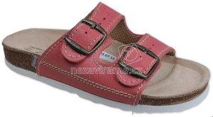 Domáca obuv Sante D/203/C30/BP cerveny