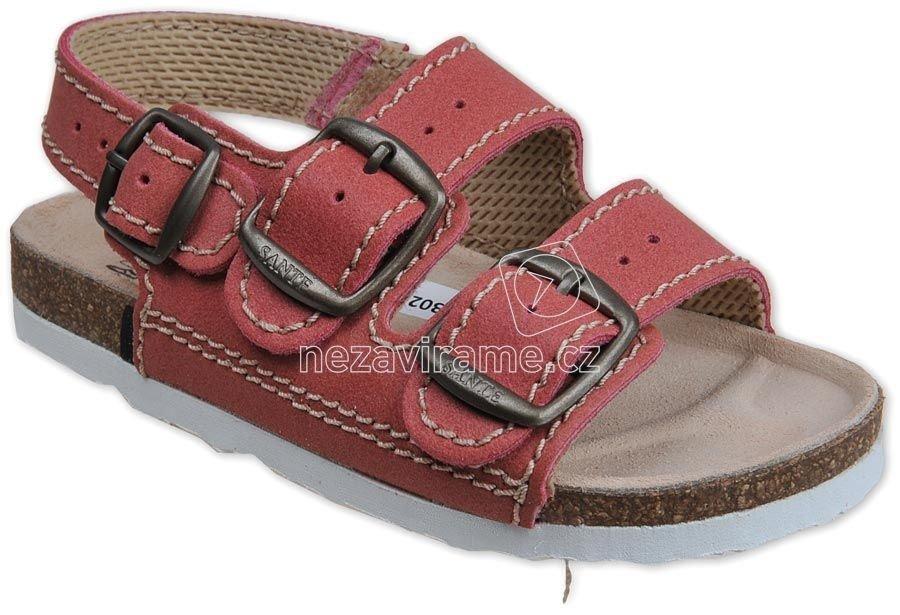 Domáca obuv Sante D/303/C30/BP cerveny