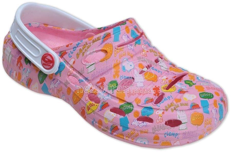 Strandpapucs Beppi 2023510 rózsaszín