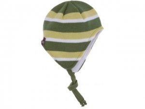 Detská zimná čapica T&Go Bende 15061 zelená