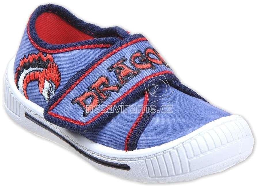 Dětské tenisky MB 674 modrý/dragon