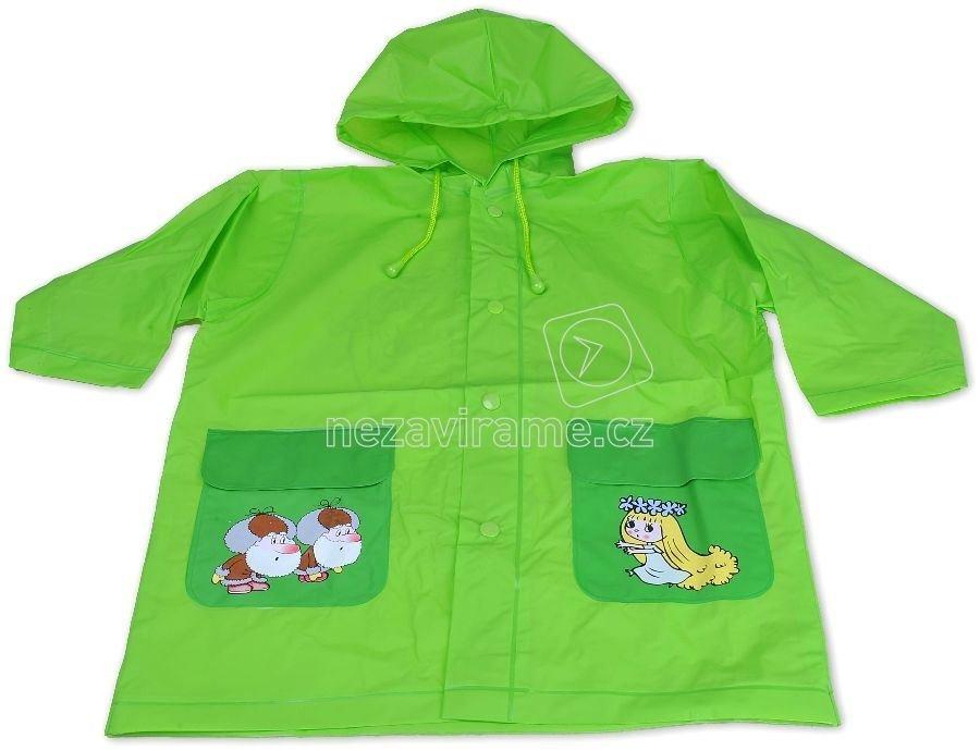 Pláštěnky Pidilidi PL04 zelená