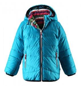 Dětská bunda Reima Tegmen 521343 turquoise
