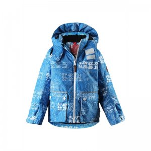 Dětská bunda Reima Chantrea 521367 blue