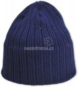 Dětská zimní čepice Pletex P302 tm.modrá