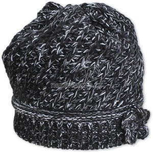 Detská zimná čapica Pletex P219 čierná