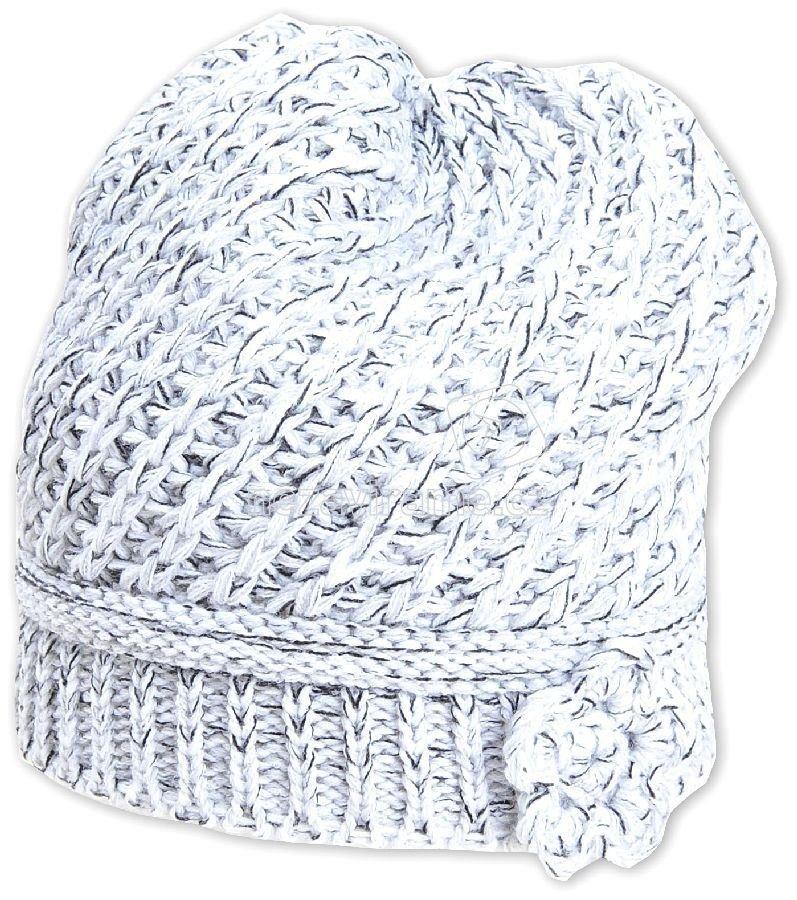 Detská zimná čapica Pletex P220 biela
