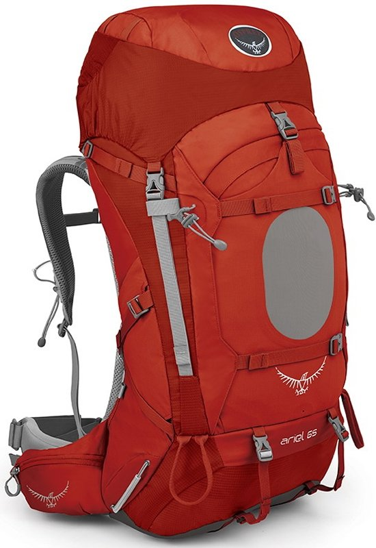 Osprey Ariel 65 WM (Vermillion Red)