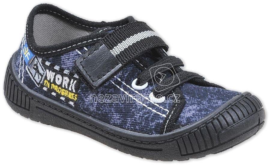Gyerek tornacipő MB 3SK8/1 sötétkék