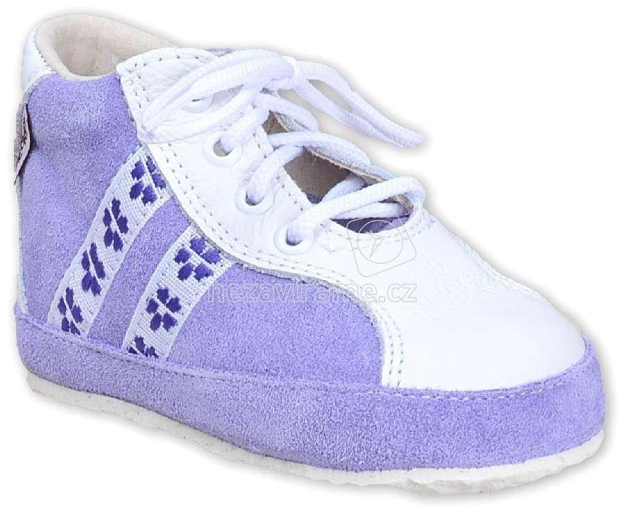 Detské capáčky Pegres 1093 fialová A