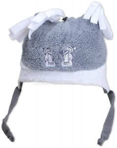 Dětská zimní čepice Rockino 1631 šedá