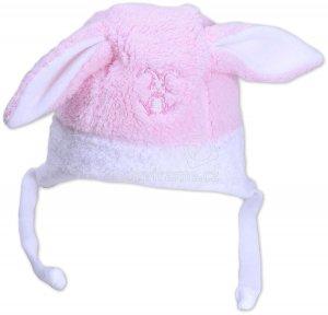 Dětská zimní čepice Rockino 1533 růžová