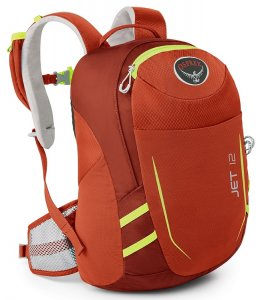 Batoh Osprey Jet 12 (Strawberry Red)