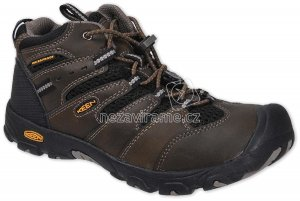 Turistické topánky Keen Koven c.brown/black