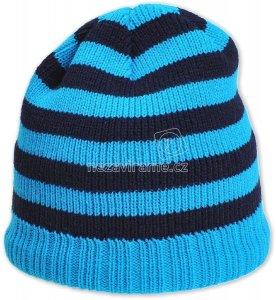 Detská zimná čapica Pletex P303 tyrkysová