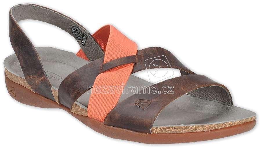 Dámské letní boty Keen Dauntless Strappy tortoise shell