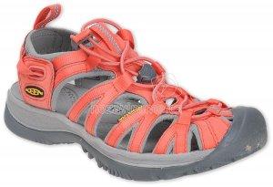 Dámské letní boty Keen Whisper W hot coral/neutral gray