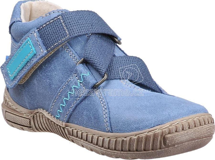 070b126707f27 Detské celoročné topánky Pegres 1402 modrá