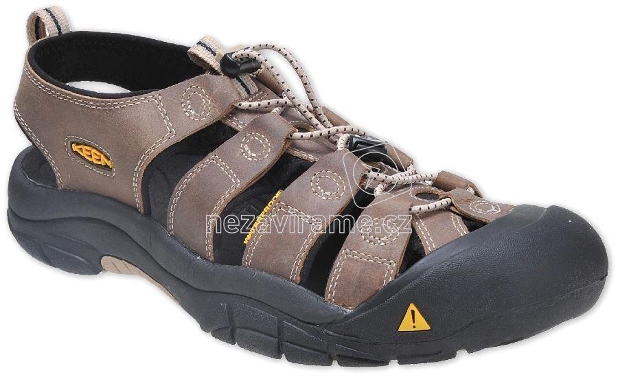 Pánské letní boty Keen Newport Men white pepper black 457f047f50
